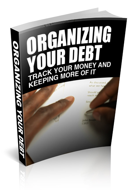 Organizing Your Debt