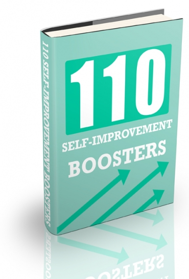 110 Self-Improvement Boosters