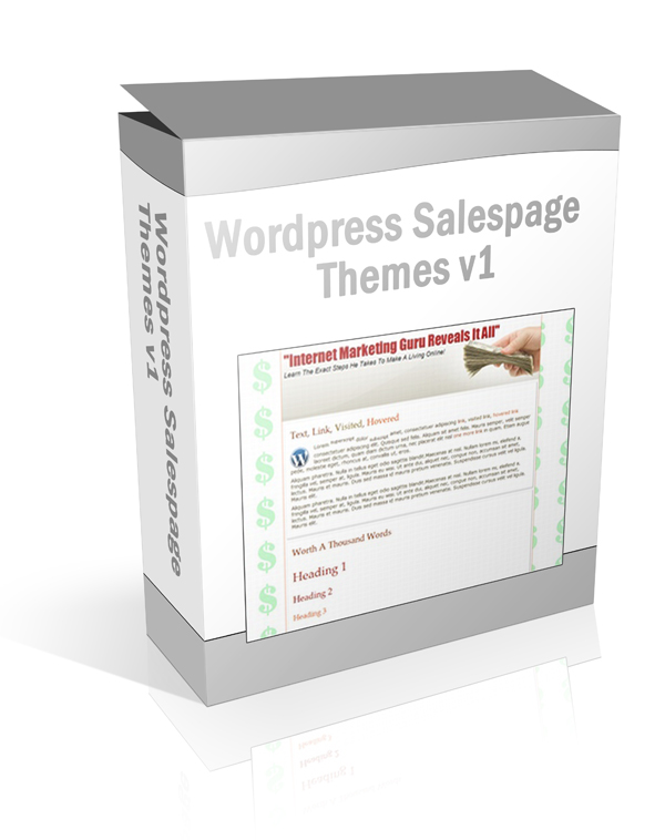 Wordpress Salespage Themes