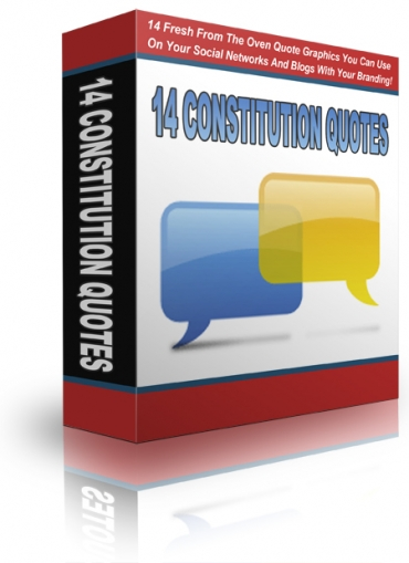 14 Fresh Constitution Quotes