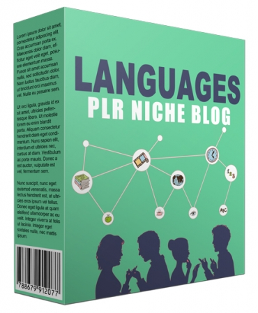 Languages PLR Niche Website