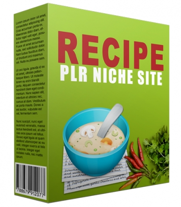Recipe PLR Niche Blog