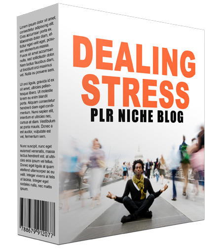 Dealing Stress PLR Niche Blog