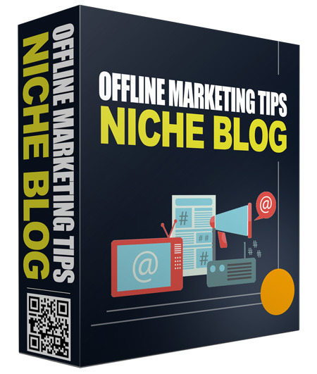 Offline Marketing Tips PLR Niche Blog