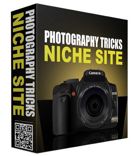 Photography Tricks PLR Niche Blog