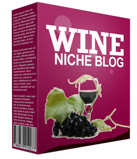 Pre-Made Wine Niche Website