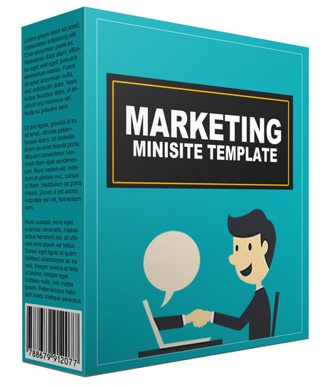 Marketing Minisite