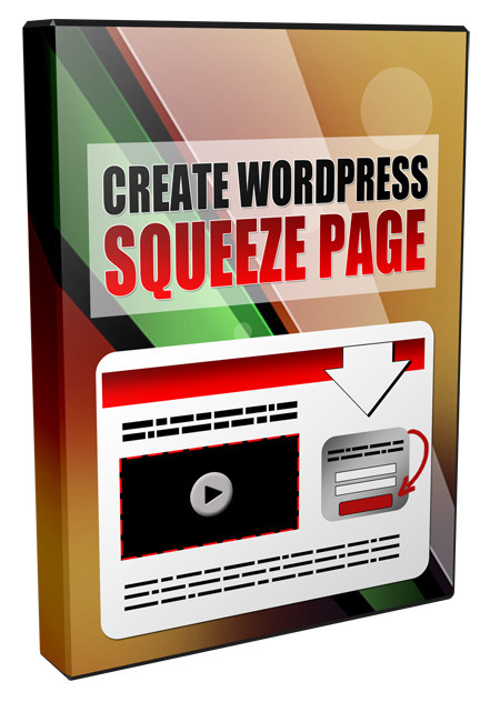 Create Squeeze Page in WordPress