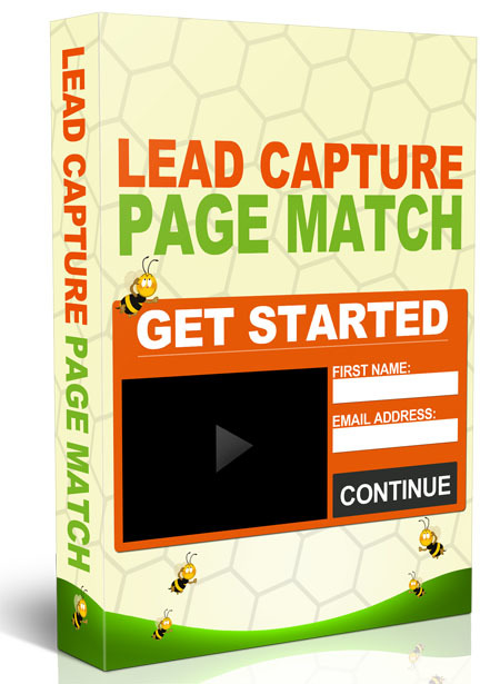 Lead Capture Page Match
