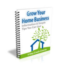 Grow Your Home Business eCourse